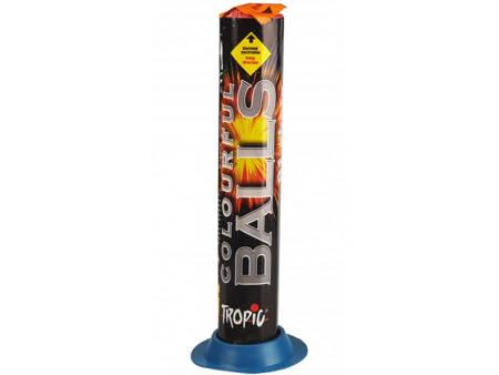 Bateria Rzymskich ogni Colorful Balls TB29 - 91 strzałów