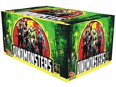 Dinomonsters C109MD - 109 strzały MIX