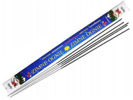 Długie Zimne Ognie 70cm - 5 sztuk