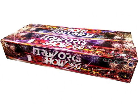 """Fireworks Show 390 C39020F/C - 390 strzałów 0.8"""""""