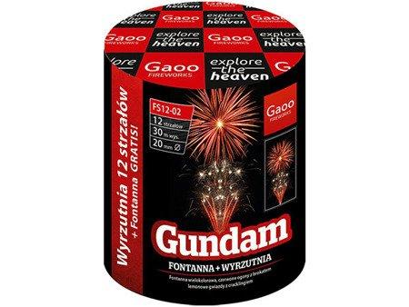 """Gundam FS12-02 - fontanna + 12 strzałów 0.8"""""""