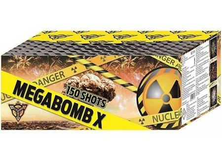 """MEGABOMB X CLE4131  - 150 strzałów 0.8"""""""