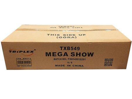 """Mega Show TXB549 - 225 strzałów 1""""/1.2"""""""