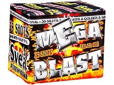 "Megablast 246 - 34 strzały 0.7"""