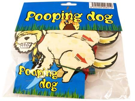 Pooping Dog PPX0072 - 2 sztuki