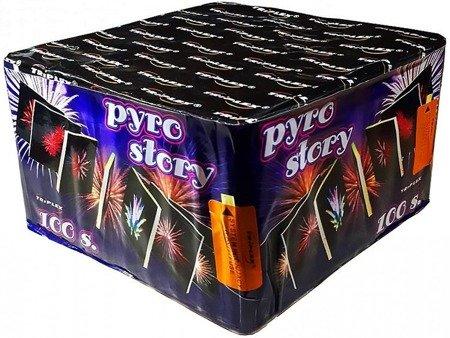 """Pyro Story TXB705 - 100 strzałów 0.8"""""""
