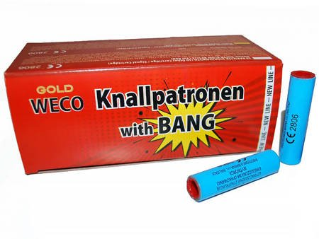 Race Knallpatronen with bang - 50 sztuk