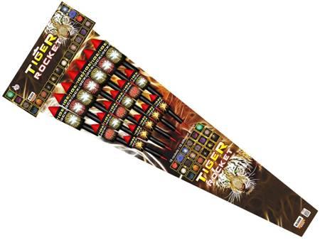 Rakiety Tiger rocket RS18T - 18 sztuk