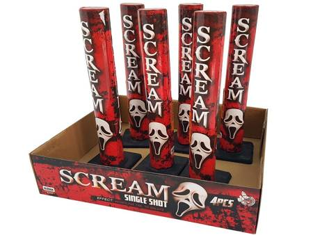 Scream Single Shots SS25SC - 6 sztuk