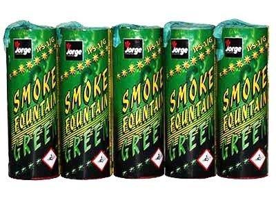 Świece Dymne JFS-1 Zielone - 5 sztuk