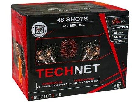 """Technet PXB3926 - fontanna + 48 strzałów 1.2"""""""