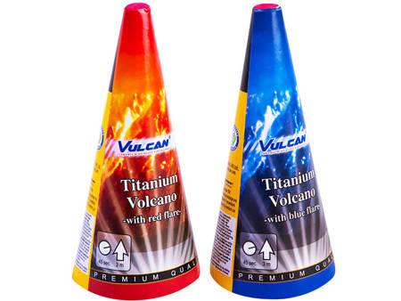Titanium Volcanos RED/BLUE 1115 - 2 sztuki