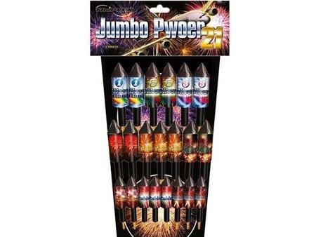 Zestaw Rakiet Big Jumbo TXR439 - 21 rakiet