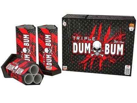 Zestaw Triple Shots Dumbum Triple C320D - 3 sztuki