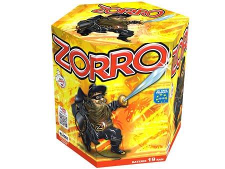 """Zorro C193H - 19 strzałów 1.2"""""""